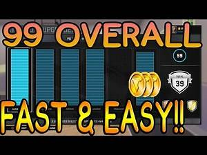 HOW TO GET 99 OVERALL FAST AND EASY!! NBA 2K16 99 OVERALL 6 7 MYPLAYER *EASIEST METHOD*