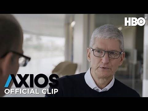 Apple CEO Tim Cook on Silicon Valley's Male-Dominated Culture | AXIOS on HBO