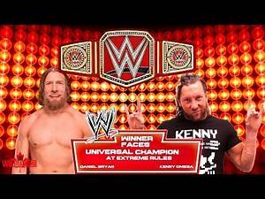 WWE Wrestlemania 36 Epic Dream Match Card