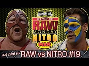 """Raw vs Nitro """"Reliving The War"""": Episode 19 - Jan 22nd 1996"""