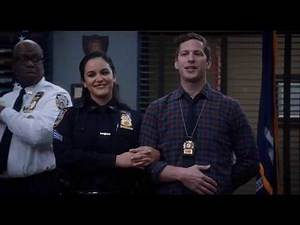 Brooklyn Nine-Nine | 7x10 | Jake & Amy's Big Reveal to the Squad