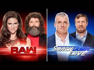 WWE Brand Extension Draft 2016 Results! (Full RAW and SDLive Rosters)