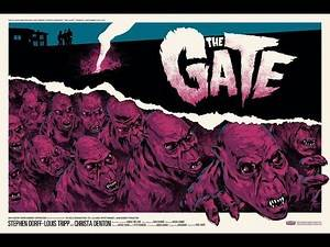 The Gate 1987 demons cult classic horror movie film review commentary