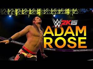 WWE 2K15 - Adam Rose Entrance & Finisher (WWE 2K15 NXT Arrival DLC Pack New!)