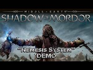 "EXCLUSIVE SHADOW OF MORDOR ""NEMESIS SYSTEM"" LIVE DEMO"