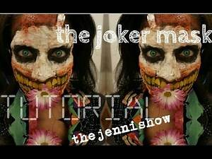 Joker Makeup Batman Death of the Family