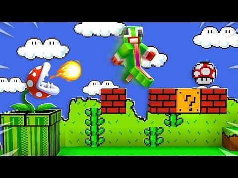 EXTREME SUPER MARIO GAME IN MINECRAFT!