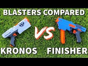 Best Nerf Brand Rival Pistol? - Blasters Compared