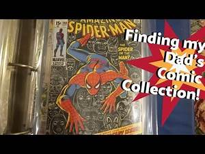 Finding My Dad's Spider-Man Comic Collection!
