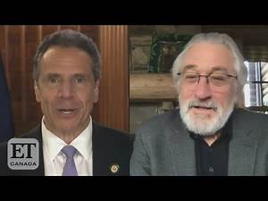 Andrew Cuomo Reacts To Robert De Niro Wanting To Play Him