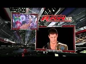 Cody Rhodes New Theme Song Smoke and Mirrors Entrance HD