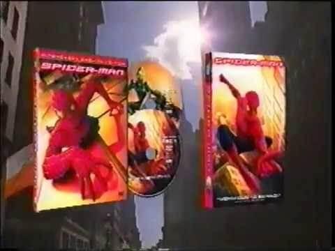 Spiderman Movie DVD & VHS Release Commercial Trailer TV Spot (2002)