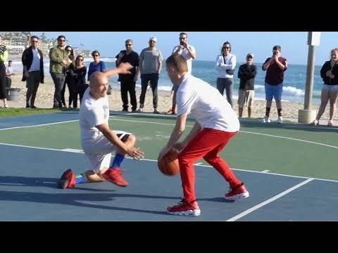 Professor 1v1 vs Cocky Hooper... Breaks Defender's Knee [Batmobile]