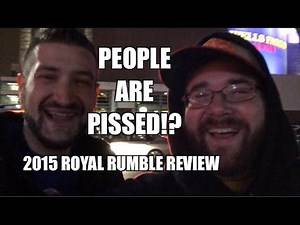 WWE 2015 ROYAL RUMBLE REVIEW! Full Show Match Results! Winners! Losers! Roman Reigns Booed!!