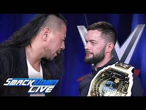 Shinsuke Nakamura confronts Finn Bálor: SmackDown LIVE, June 25, 2019