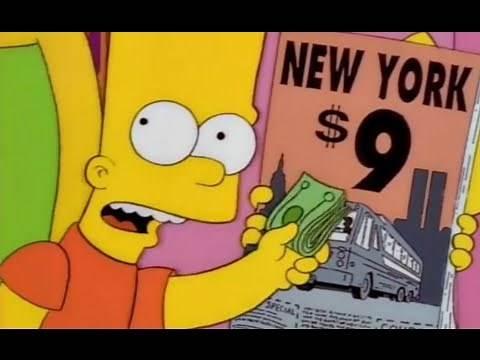 The Simpsons S09E01 911 Predictive Programming