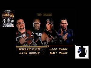 GC WWE WrestleMania X8 - The Dudley Boyz vs The Hardy Boyz
