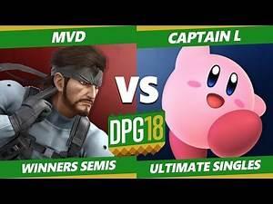 Smash Ultimate Tournament - TGS | Captain L (Kirby, Pichu, Puff) Vs. PG | MVD (Snake) DPOTG18 SSBU