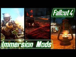3 SIMPLE IMMERSION MODS - Fallout 4 Mods & More Episode 47