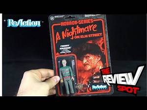 Toy Spot - Funko A Nightmare on Elm Street ReAction Freddy Frueger