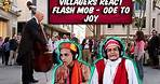 Villagers React To Flash Mob - Ode to Joy ! Tribal People React To Flash Mob - Ode to Joy