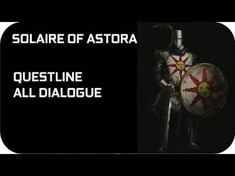 Solaire of Astora Story Questline Dark Souls 1 NPCs Quests