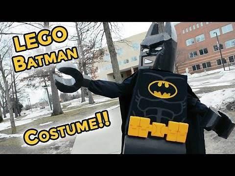 Custom-made LEGO Batman Movie Costume