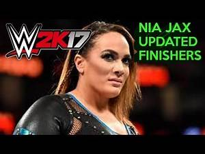 WWE 2K17 - NIA JAX UPDATED FINISHERS