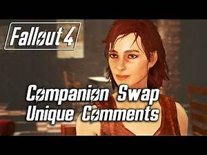Fallout 4 - Companion Swap Unique Comments (Cait)