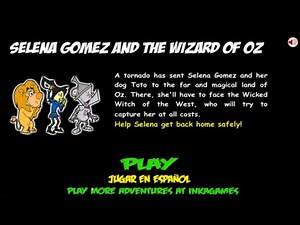 Selena Gómez and The Wizard of Oz | InkaGames | Walkthrough