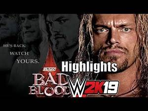 Bad Blood 2004 Highlights Full Show WWE 2k19