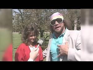 "Randy ""Macho Man"" Savage interview in Fort Wayne on May 5, 1987"