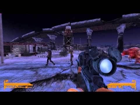Fallout: New Vegas Mod Reviews - M40a5 Sniper Rifle (Bolt Action)