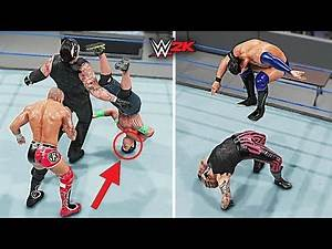 Top 10 Insane Finishers Gone Wrong!! | WWE 2K