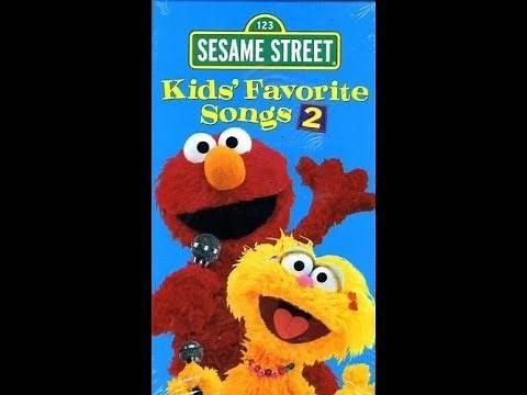Sesame Street: Kids Favorite Songs 2 (2001 VHS)