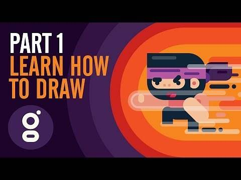 Part 1: Learn How to Draw 2D Video Game Character – 2D Sprite