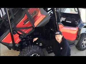 2016 Pioneer 1000 5 Seat Deluxe Walk Through - Central Motor Sports