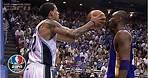 Kobe Bryant doesn't flinch when Matt Barnes fakes pass at his face   NBA Highlights