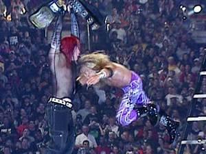 Edge Spears Jeff Hardy - WrestleMania X-Seven