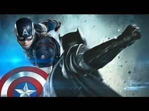 Batman vs Captain America- Lotto.