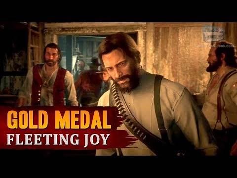 Red Dead Redemption 2 - Mission #64 - Fleeting Joy [Gold Medal]