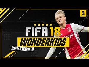 CONFIRMED FIFA 18 CAREER MODE WONDERKIDS?! | ft. Dolberg, Alexander-Arnold & Jankto [#3]