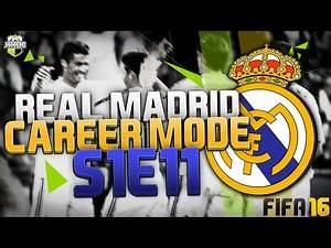 "FIFA 16: Real Madrid Career Mode - S1 E11 - ""BEND IT LIKE BECKHAM!"""
