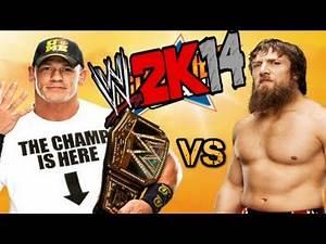 WWE 2K14 GAMEPLAY - John Cena vs Daniel Bryan