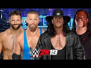 WWE 2K19   THE BROTHERS OF DESTRUCTION vs ZACK RYDER & CURT HAWKINS