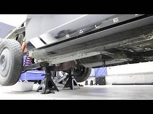 Fixing crushed frame rails | Underside Restoration | 99 Saleen Build (P2)