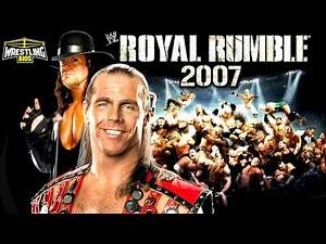 The 2007 Royal Rumble & The Best Royal Rumble Ending