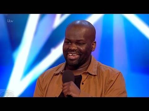 Britain's Got Talent 2017 Daliso Chaponda Hilarious Comedian Full Audition S11E03