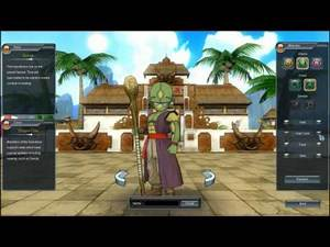 Dragon Ball Online Create A Character