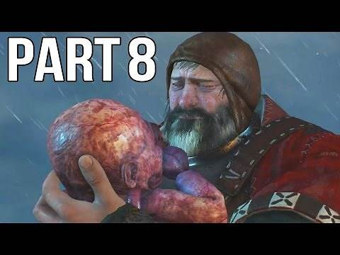 The Witcher 3 Walkthrough Part 8 Gameplay - The Baby